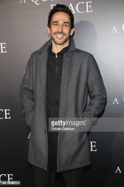 Amir Arison attends New York Premiere of 'A Quiet Place' on April 2 2018 in New York City