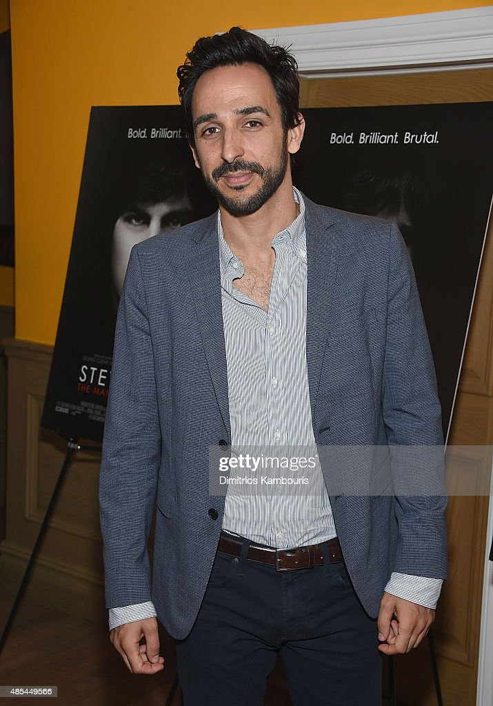 Amir Arison attends 'Steve Jobs: The Man In The Machine' New York Screening at Crosby Street Hotel on August 27, 2015 in New York City.