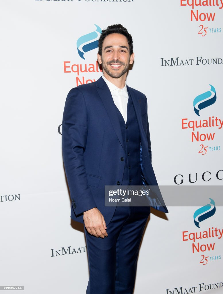 Amir Arison attends the 2017 Equality Now Gala at Gotham Hall on October 30, 2017 in New York City.
