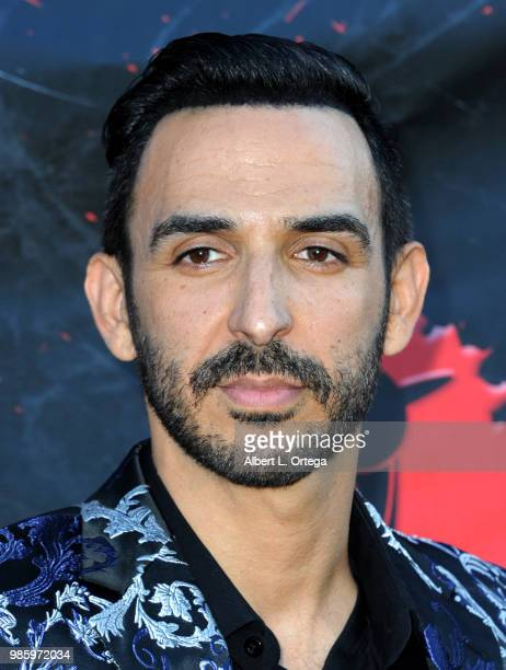 Amir Arison attends the Academy Of Science Fiction Fantasy Horror Films' 44th Annual Saturn Awards at The Castaway on June 27 2018 in Burbank...