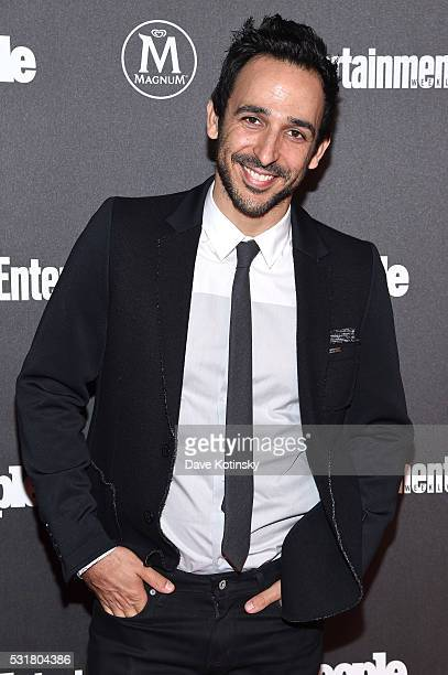 Amir Arison attends the Entertainment Weekly People Upfronts party 2016 at Cedar Lake on May 16 2016 in New York City