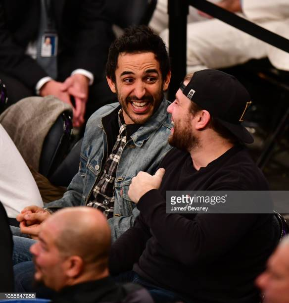 Amir Arison attends the Indiana Pacers vs New York Knicks game at Madison Square Garden on October 31 2018 in New York City