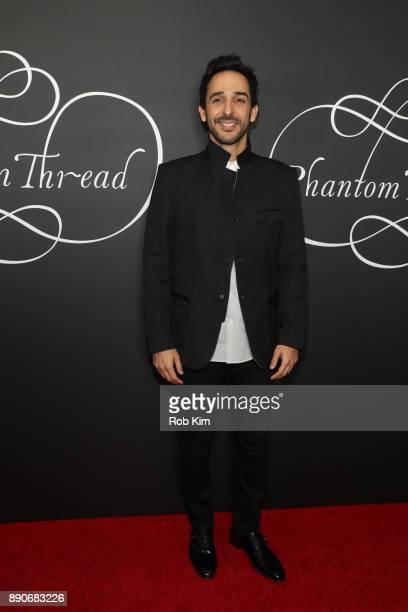 Amir Arison attends the New York Premiere of 'Phantom Thread' at Harold Pratt House on December 11 2017 in New York City