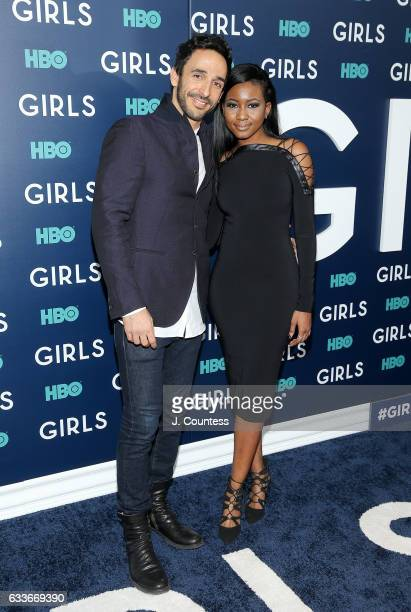 Amir Arison attends The New York Premiere Of The Sixth Final Season Of 'Girls' at Alice Tully Hall Lincoln Center on February 2 2017 in New York City