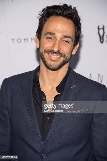 Amir Arison attends theFrank premiere at the Sunshine Landmark on August 5 2014 in New York City