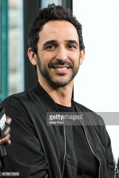 Amir Arison visits Build Series to discuss 'The Blacklist' at Build Studio on April 27 2017 in New York City