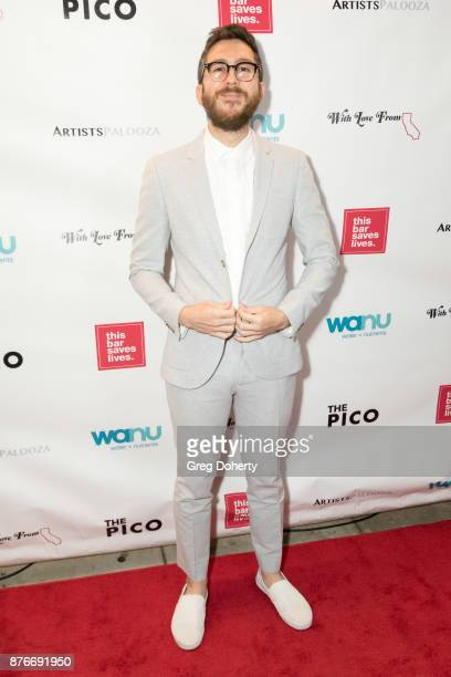 Amir Blumenfeld attends With Love From California A Night Of One Act Plays Benefiting Hurricane Relief Efforts Through Team Rubicon at The Pico...
