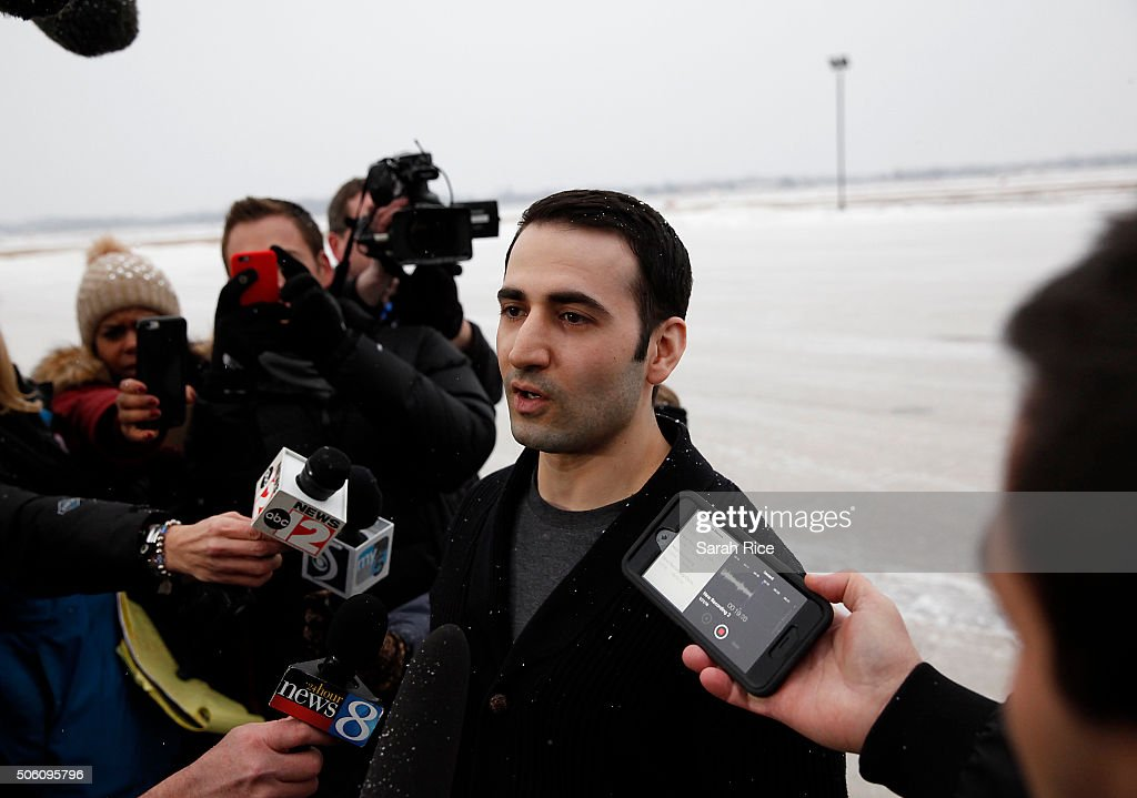 Marine Held In Iran Since 2011 Returns Home To Flint, Michigan : Photo d'actualité
