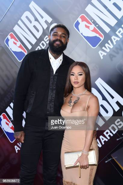 Amir Johnson of the Philadelphia 76ers walks the red carpet before the NBA Awards Show on during the 2018 NBA Awards Show on June 25 2018 at The...