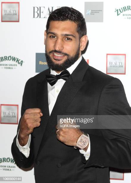 Amir Khan seen during The Beauty Awards with OK at the Park Plaza Westminster Bridge