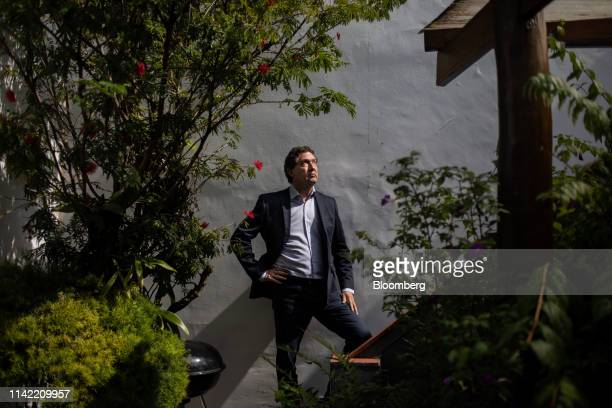 Amir Makansi, chief executive officer and partner at Anglo Americana Consultoria de Imoveis SA, stands for a photograph at the company's office in...