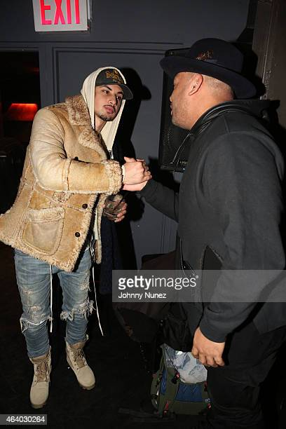 Amir Obe and DJ Mel DeBarge attend the Lauryn Hill concert at Highline Ballroom on February 20 in New York City