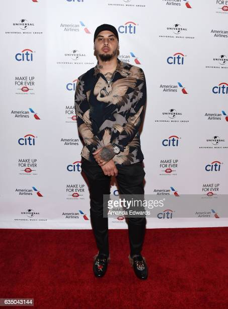 Amir Obe arrives at the Universal Music Group's 2017 GRAMMY After Party at The Theatre at Ace Hotel on February 12 2017 in Los Angeles California
