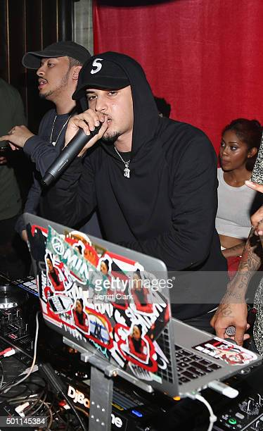 Amir Obe attends Profound Aesthitics Art Basel Partnership Event at Delano Hotel on December 3 2015 in Miami Florida