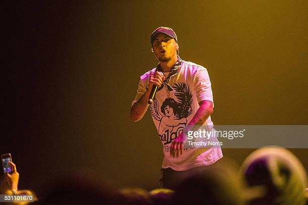 Amir Obe performs at Microsoft Theater on May 11 2016 in Los Angeles California
