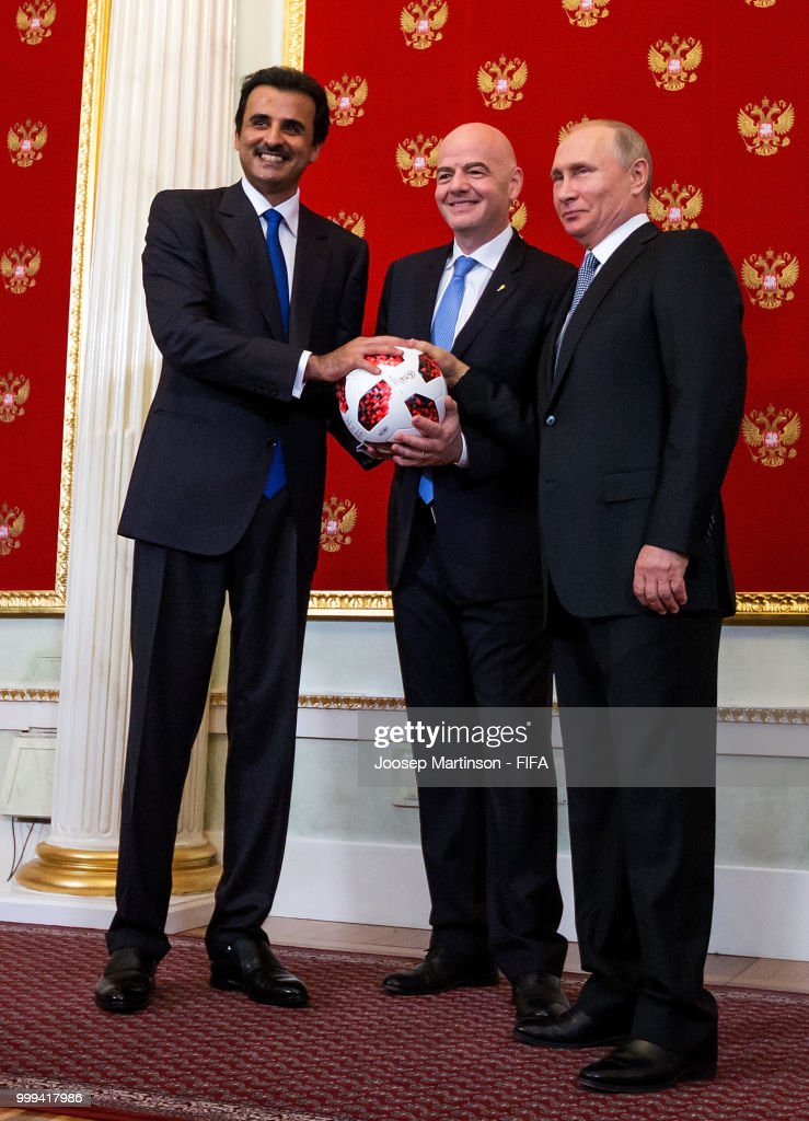 Handover Ceremony Kremlin - 2018 FIFA World Cup Russia Final