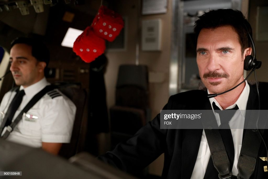 Amir Talai and Dylan McDermott in the 'The Yips And The Dead' episode of LA TO VEGAS airing TUESDAY, Jan. 9 (9:00-9:30 PM ET/PT) on FOX.