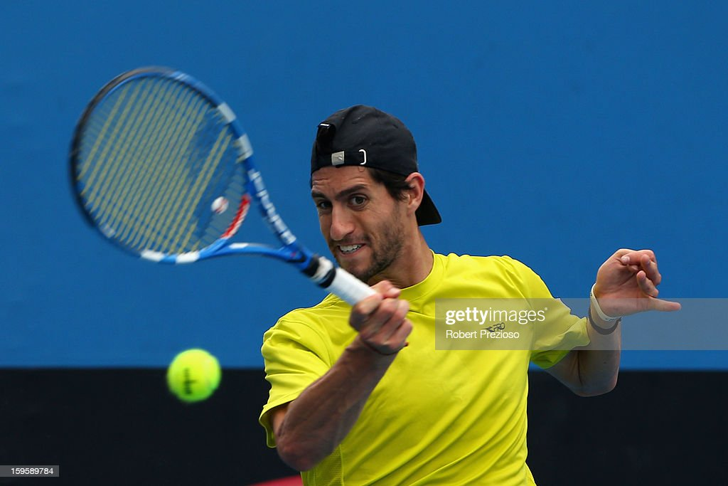 2013 Australian Open - Day 4 : News Photo