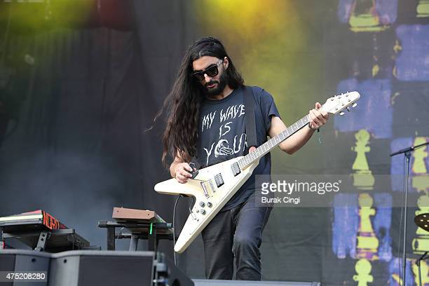 Amir Yaghmai of The Voidz performs at Primavera Sound Festival on May 29 2015 in Barcelona Spain