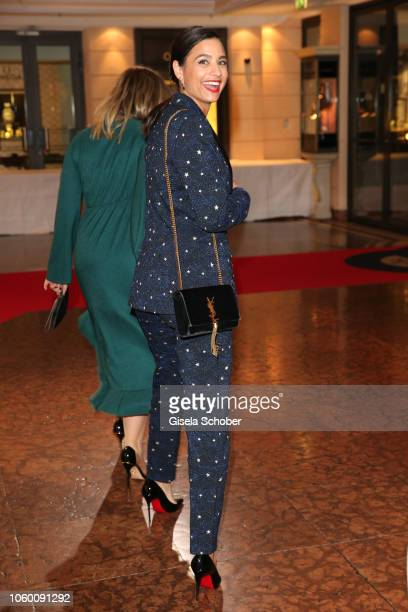 Amira Aly girlfriend of Oliver Pocher during the McDonald's Benefiz Gala benefit to McDonald's Kinderhilfe Stiftung at hotel Bayerischer Hof on...