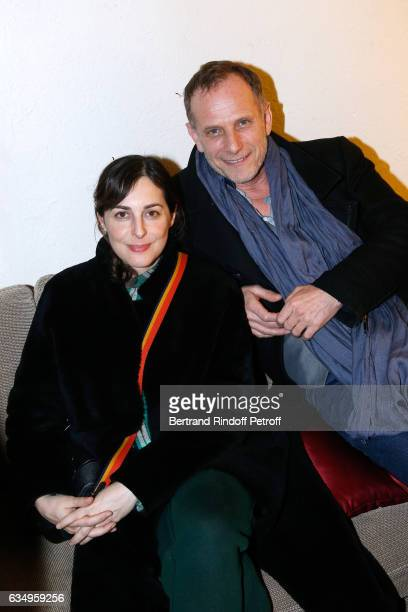 Amira Casar and carles Berling attend Gerard Depardieu sings Barbara accompanied on the piano of Barbara by Gerard Daguere who was Barbara's Pianist...