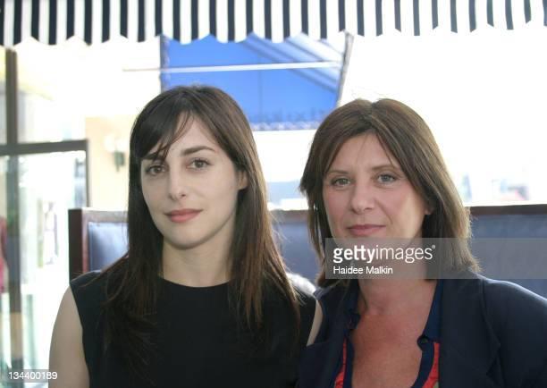 Amira Casar and Catherine Breillat during 2004 Toronto International Film Festival Unifrance Press Luncheon at Prego della Piazza in Toronto Canada