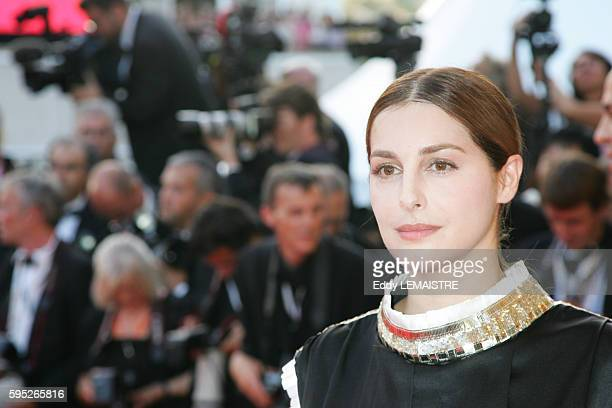 Amira Casar arrives at the premiere of 'Ocean's 13' during the 60th Cannes Film Festival