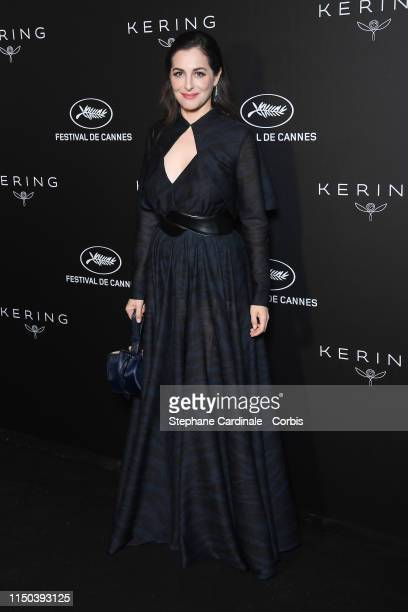 Amira Casar at Place de la Castre on May 19, 2019 in Cannes, France.