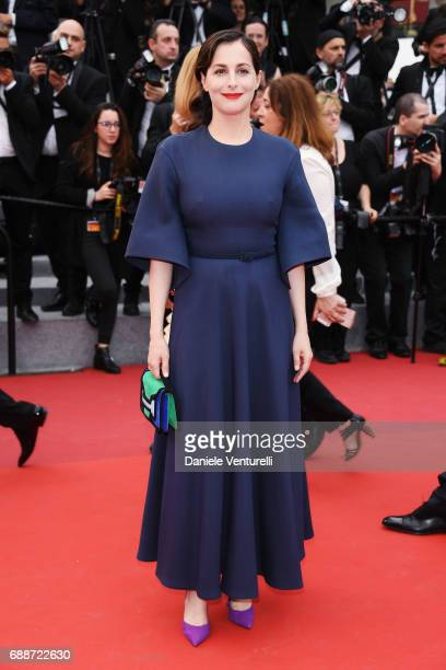 Amira Casar attends Amant Double Red Carpet Arrivals during the 70th annual Cannes Film Festival at Palais des Festivals on May 26 2017 in Cannes...