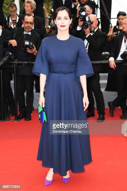 Amira Casar attends 'Amant Double ' Red Carpet Arrivals during the 70th annual Cannes Film Festival at Palais des Festivals on May 26 2017 in Cannes...