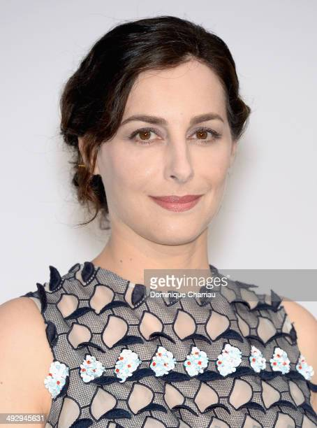 Amira Casar attends amfAR's 21st Cinema Against AIDS Gala Presented By WORLDVIEW BOLD FILMS And BVLGARI at Hotel du CapEdenRoc on May 22 2014 in Cap...