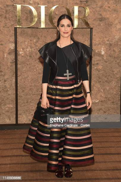 Amira Casar attends the Christian Dior Couture S/S20 Cruise Collection on April 29 2019 in Marrakech Morocco