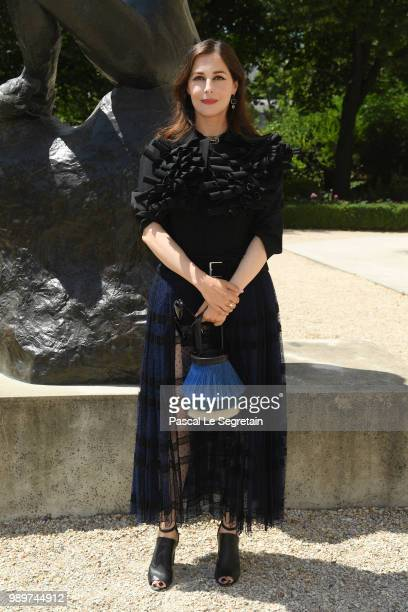 Amira Casar attends the Christian Dior Haute Couture Fall Winter 2018/2019 show as part of Paris Fashion Week on July 2 2018 in Paris France