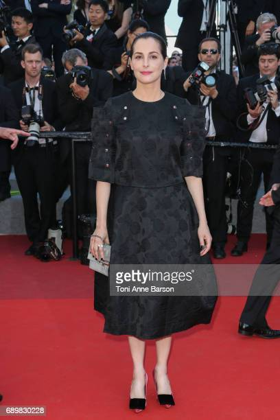 Amira Casar attends the Closing Ceremony during the 70th annual Cannes Film Festival at Palais des Festivals on May 28 2017 in Cannes France
