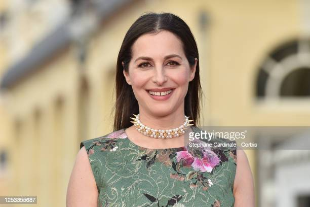 Amira Casar attends the Closing Ceremony of the 34th Cabourg Film Festival on June 29 2020 in Cabourg France