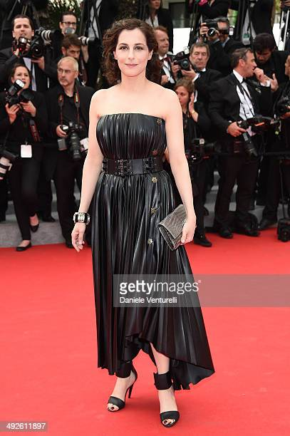 Amira Casar attends 'The Search' Premiere at the 67th Annual Cannes Film Festival on May 21 2014 in Cannes France