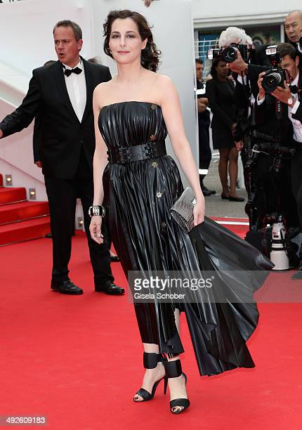 Amira Casar attends 'The Search' premiere during the 67th Annual Cannes Film Festival on May 21 2014 in Cannes France