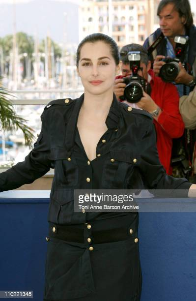 Amira Casar during 2005 Cannes Film Festival Peindre ou Faire l'Amour Photocall at Le Palais de Festivals in Cannes France