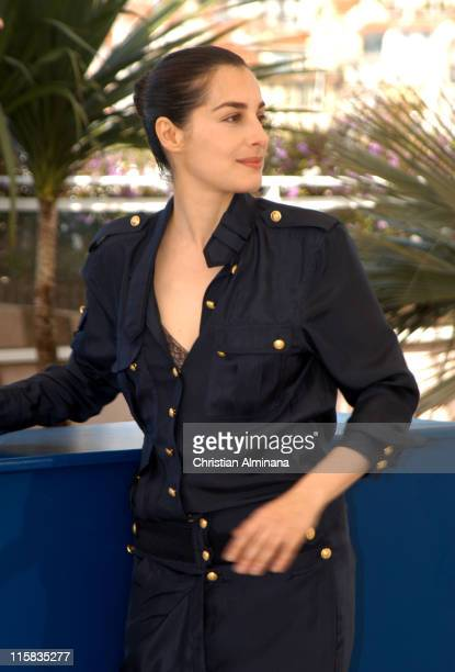Amira Casar during 2005 Cannes Film Festival 'Peindre ou Faire l'Amour' Photocall at Le Palais de Festivals in Cannes France