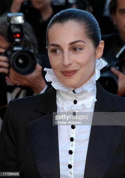 Amira Casar during 2005 Cannes Film Festival Peindre ou Faire l'Amour Premiere at Le Palais de Festival in Cannes France