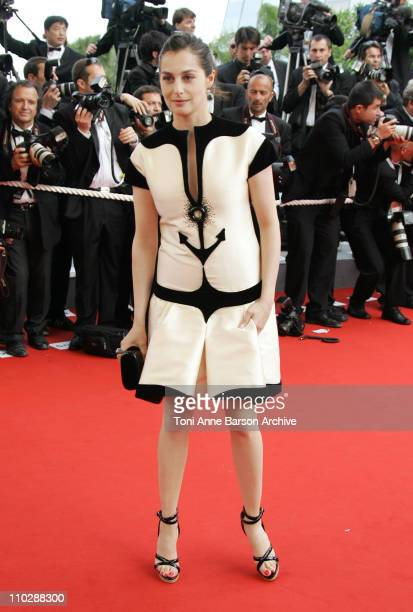 Amira Casar during 2006 Cannes Film Festival Palme D'Or Arrivals at Palais des Festivals in Cannes France