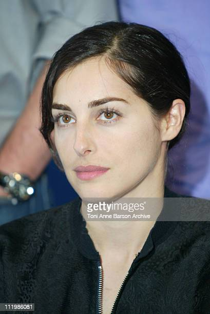 Amira Casar during Deauville 2002 Jury Photocall at CID Deauville in Deauville France