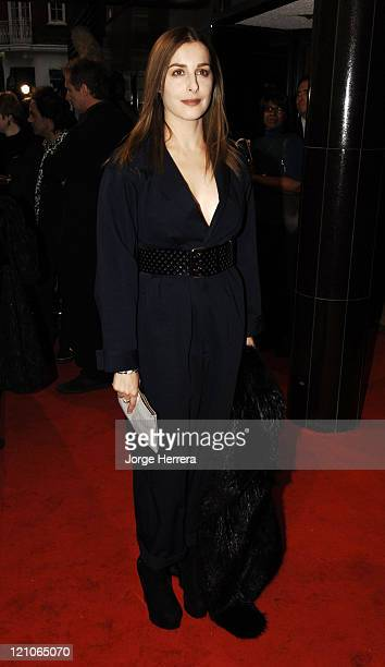 "Amira Casar during ""La Vie En Rose"" London Premiere - Arrivals at Curzon Mayfair in London, Great Britain."
