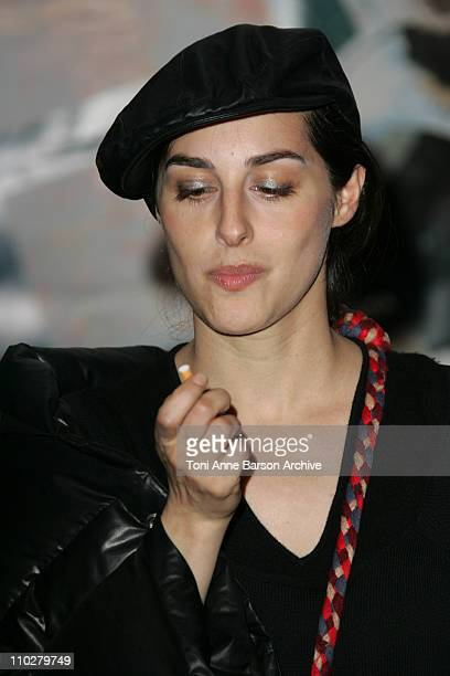 Amira Casar during Mary Paris Premiere at Cine Cite Les Halles in Paris France