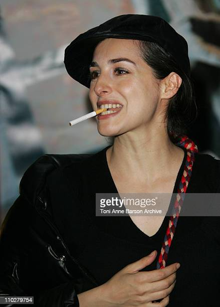 Amira Casar during 'Mary' Paris Premiere at Cine Cite Les Halles in Paris France