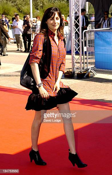 Amira Casar during The 32nd Annual Deauville American Film Festival 'Half Nelson' Premiere at Deauville Film Festival in Deauville France
