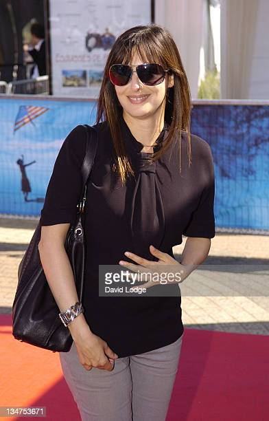 Amira Casar during The 32nd Deauville American Film Festival 'Sherrybaby' Premiere at Deauville Film Festival in Deauville France