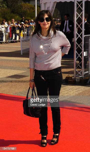 Amira Casar during The 32nd Deauville American Film Festival Thank You For Smoking Premiere at Deauville Film Festival in Deauville France