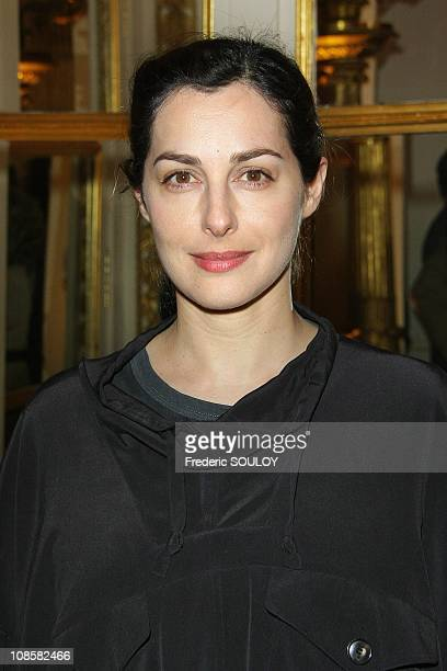 Amira Casar in Paris France on March 31 2009