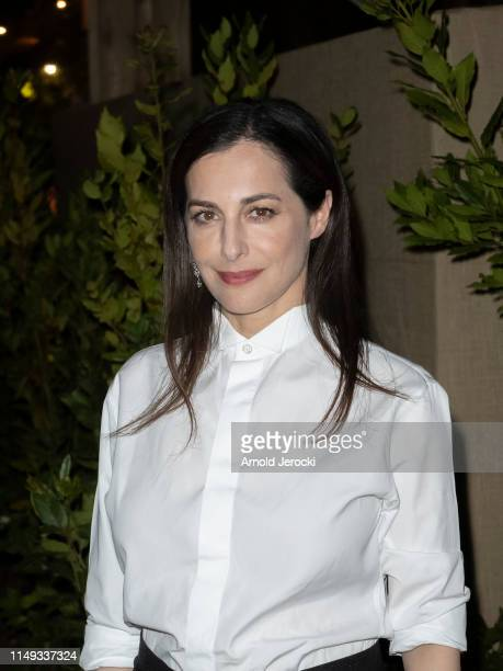 Amira Casar is seen at the Dior Dinner during the 72nd annual Cannes Film Festival on May 15 2019 in Cannes France